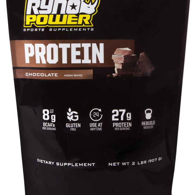Ryno Chocolate Protein Powder